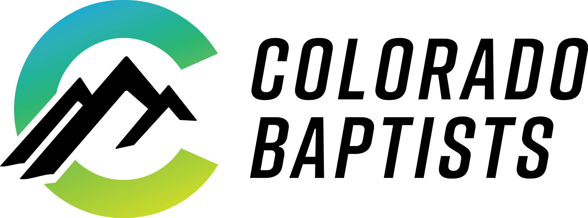 Colorado Baptist Gradient Logo