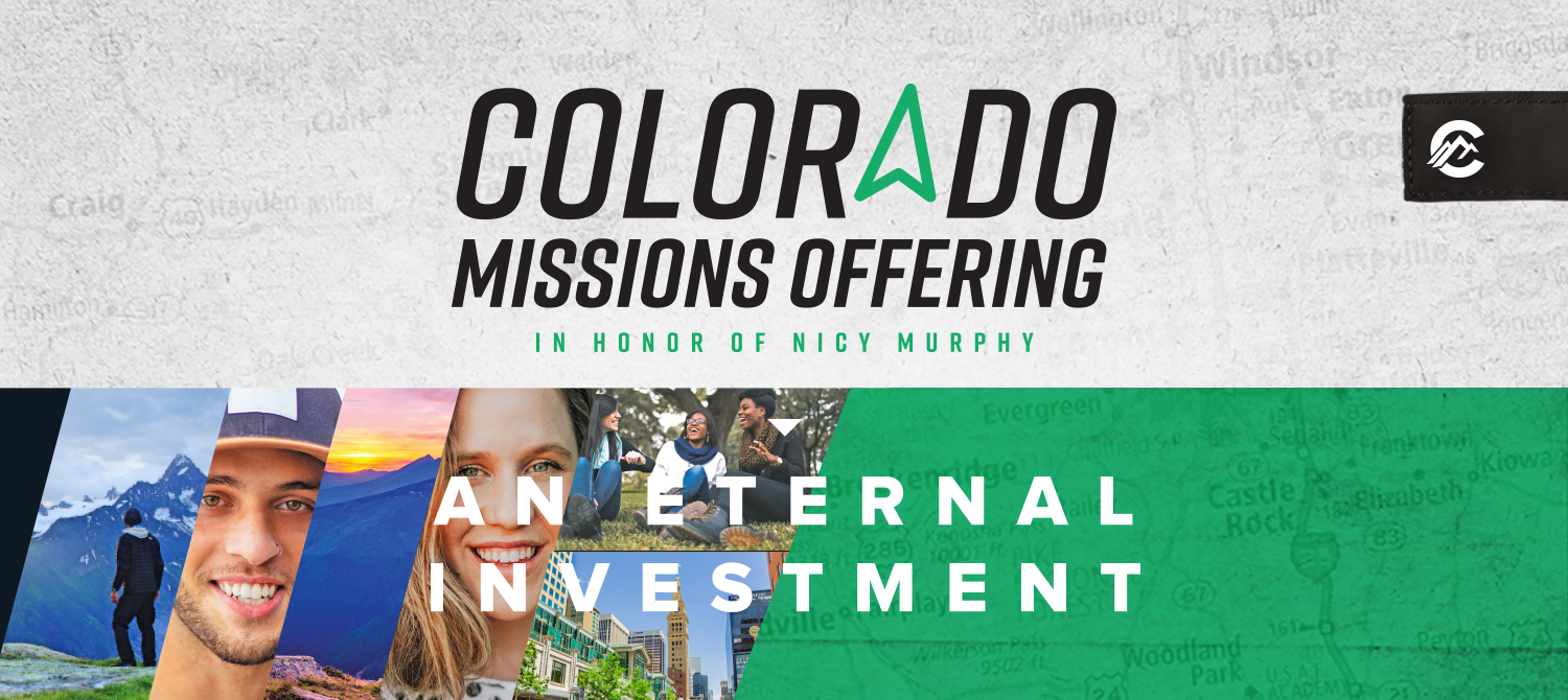 Colorado Missions Offering