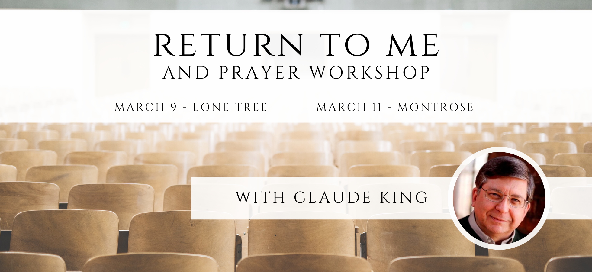 Workshops with Claude King